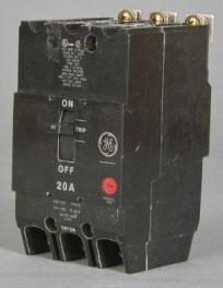 TEY340 GE 3P 480V 40A BREAKER