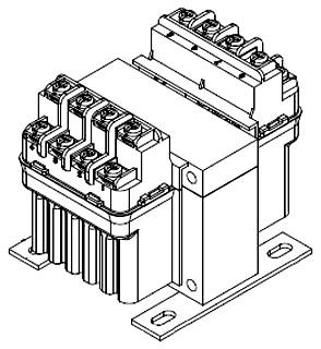 PH100MQMJ HAMMOND TRANSFORMER, 868-0125 CNTL 100VA 240/480 SEC120X240V