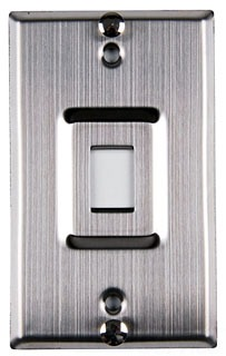 FPSINGLE-WPSS TYTON SINGLE PORT WALL PHONE FACEPLATE W/ STUDS - STAINLESS STL