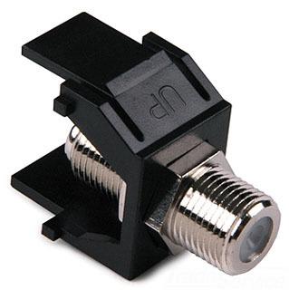 FINSERT-BK TYTON F CONNECTOR MODULE - BLACK