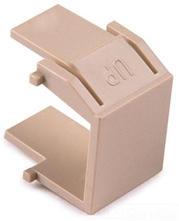 BLANKI TYTON BLANK INSERT IVORY 10/BAG (SOLD PER PK OF 10)