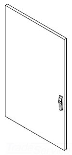 PDS86 HOF SOLID HALF DOOR