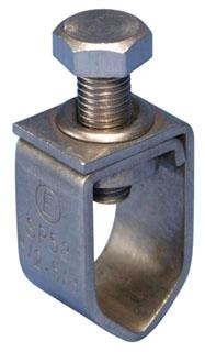 SP58 ERICO CLAMP,GROUNDING,ROD 1/2 THRU 5/8 ROD,SS 78285660651