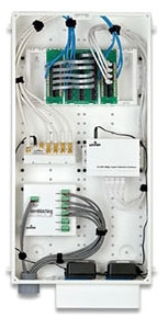47605-28N LEV SERIES 280 WHITE STRUCTURED MEDIA ENCLOSURE