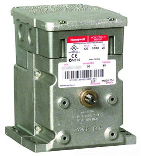 M7284C1083/U HONEYWEL 15VA, 24/120/230V, 50/60HZ. 4-20 MILLIAMP CONTROL. 90 DEG FIXED STROKE. 30 SEC TIMING. 150 LB-IN TORQUE. WITH SPECIAL CONTROL/PROTECTION CIRCUITAND ISOLATION TRANSFORMER. MODUTROL MOTOR SYMMETRIC
