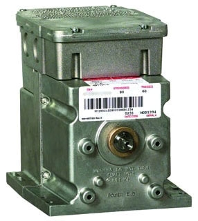 M7285A1003 HONEYWELL 120V SPRING RETURN FOOT MOUNTED ACTUATOR WITH 60 LB-IN TORQUE