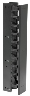 VS74 HUBBELL VERTICAL CABLE MANAGEMENT 7'H X 4