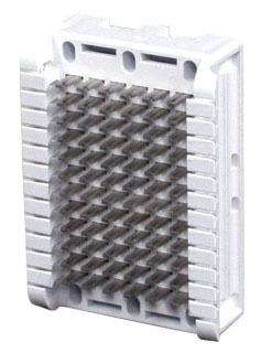 HPW66B16 HUBBELL BLOCK, MODULAR,66B,6 PR