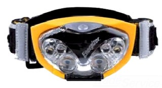 HDL33AINE EVEREADY HEADLIGHT,ENERGIZER,INDUSTRIAL,YEL, 3 BAT 03980002221
