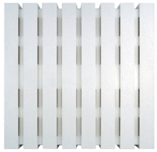 CL-W CRFTMADE 7.88 X 2.50 X 7.88IN BASIC PLASTIC MATTE WHITE CHIME