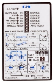 EMA71 CH CONTROL USER INTERFACE WITH SS STATUS LED