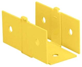 FCF2X2YL PANDUIT COUPLER, 2 x 2 (50MM x 50MM), FIBER-DU 07498370239