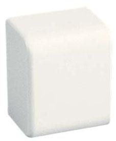 ECFX10WH-X PAN WHITE END CAP R1B