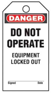 PVT-153-Q PAN 25 SAFETY TAGS & TIES