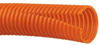 CLT25F-C3 PAN ORNG CORRUGATED LOOM TUBING (1 PC = 1-100' LENGTH)