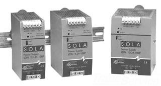 SDN9-12-100P SOLA 108W 12V DIN P/S 115/230V IN 78347200192
