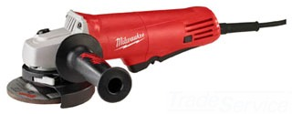 6140-30 MILWAUKE 7.5AMP MULTI-PORT EXHAUST SYSTEM SMALL ANGLE GRINDER