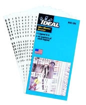 44-148 IDL BOOK, SOLID PAGES, A-Z