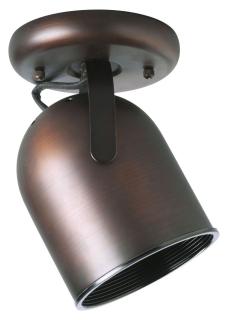 P6144-174 PROGRESS CEILING 1-75W LIGHT ROUND BK 78524714203