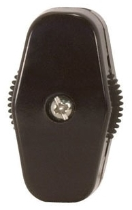 90/814 SATCO BLK ON-OFF CORD SWITCH