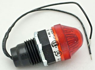 40100-012 REE P/L 120V LED R W/RLENS