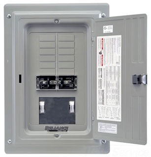 TRC0303C RELIANCE TRANSFER PANEL WITH METERS ONLY 78539964215