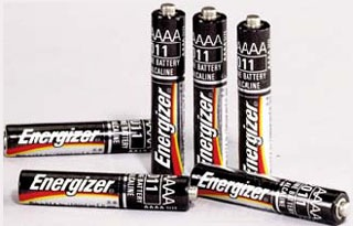 65030 STM AAAA BATTERIES 6/PACK