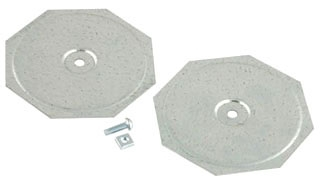 1041 RACO KNOCKOUT SEAL 4 IN 2PC STEEL