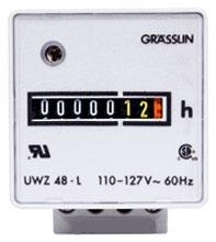 UWZ48-120U I-MATIC AC HOUR METERS SURFACE MOUNT, SCREW TERMINALS, 120V, 60HZ 61457321010