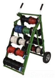 11902 RACK-A-TIER CADDY MAC # 2 - WIRE CART