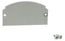 68B WMD 1/2 GANG BLANK PLATE