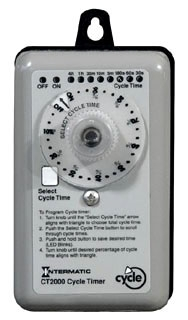 CT2000 I-MATIC PERCENTAGE CYCLE TIMER. 120/240V, 60HZ. 07827512436