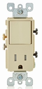 T5625-I LEVITON 15A SWITCH TR RCPT CMBO 07847738238