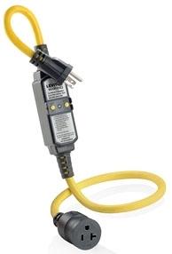 GFA20-3C LEVITON 20A-125V GFI 3' CORD 07847739912