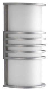 P5914-16 PROGRESS PARKER 1-26W CFL WALL LANTERN GREY