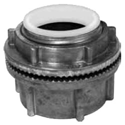 HUB50DN APP 1/2 COND HUB WATER TIGHT / INSUL ZINC/DC