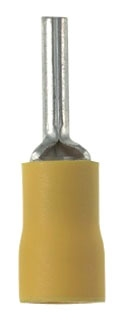PV10-P55-LY PAN PIN TERMINAL VINYL INSULATED 12-10 A