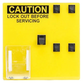 PSL-4SA PAN LOCKOUT STATION (SIGN ONLY) 4 PERSON