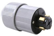 20415N P&S LKG PLUG 3P-4W 30A-600V & 20A-250VDC CORD .40-1.062