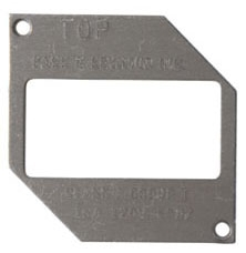 P&S 4600-26P DECORATOR PLATE FOR 4600 COVER