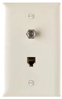 TPTELTVLA P&S LT.AL.1G COMBO PHONE& CATV JACK