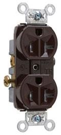TR20 P&S RECEP DUP TAMPER RESIS 20A/125V BR 78500724163