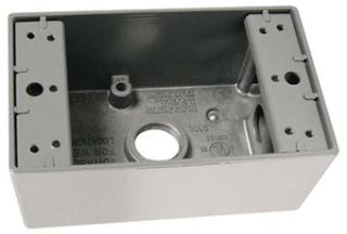WPB23 P&S 1G WP BELL BOX 3- 1/2