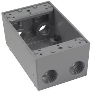 WPB25 P&S 1G WP BELL BOX 5- 1/2