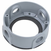 WPEX3 P&S ROUND WP EXTENSION RING 4 HOLE 1/2