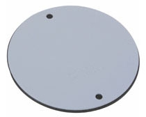 WPRB1 P&S WP COVER ROUND BLANK W/ GASKET