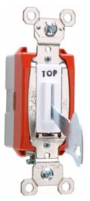 PS20AC1-WL PAS 20A 120/277VAC B&S WIRE SP FORK KEY LOCK 78500719645