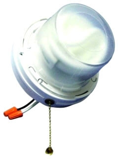 LH-CFL2 ALLIED PULL CHAIN COMPACT FLUORESCENT FXTR