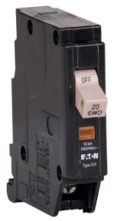 CHF120 CH CIRCUIT BREAKER 1P 20 AMP 120/240V