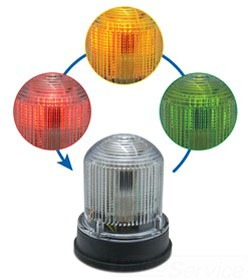 125XBRiRGA120A EDWARDS 125 LED,Multi-Stat,RED, GREEN, AMBER,DIV2,120VAC,Gray Base 78264005003